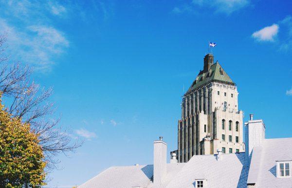 Edifice Price (Price building) in Old Quebec