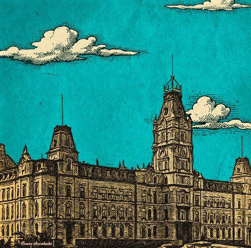 Parliament Building of Quebec, by Razvan for Tours Accolade