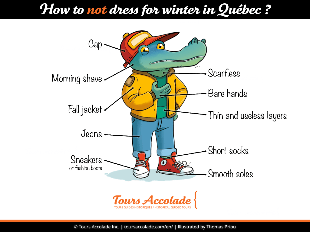 How to not dress for winter in Québec?