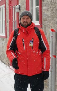 Example of winter clothing